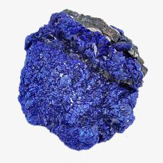Natural 44.45cts azurite druzy blue rough 26x24 mm fancy loose gemstone s14500