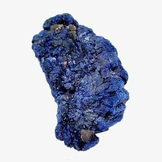 Natural 34.45cts azurite druzy blue rough 30x17 mm fancy loose gemstone s14483