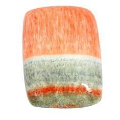 Natural 27.35cts celestobarite orange cabochon 23.5x17 mm loose gemstone s13582
