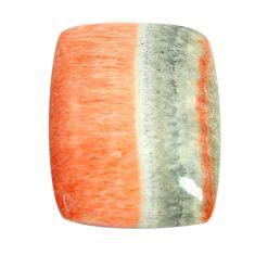 Natural 29.45cts celestobarite orange cabochon 24x19 mm loose gemstone s13591