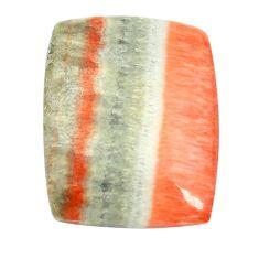 Natural 32.40cts celestobarite orange cabochon 26x20 mm loose gemstone s13588