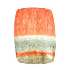Natural 29.45cts celestobarite orange cabochon 27x18 mm loose gemstone s13583