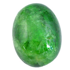 Natural 13.15cts chrome diopside green cabochon 18x13 mm loose gemstone s12265