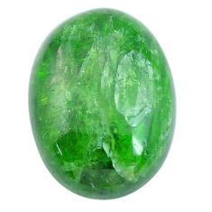 Natural 11.30cts chrome diopside green cabochon 18x13 mm loose gemstone s12268