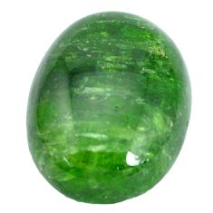 Natural 19.45cts chrome diopside green cabochon 20x15 mm loose gemstone s10345