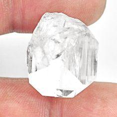 Natural 29.45cts danburite rough white rough 20x17.5 mm loose gemstone s13510
