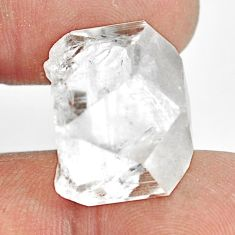 Natural 28.45cts danburite rough white rough 20x15mm fancy loose gemstone s13537