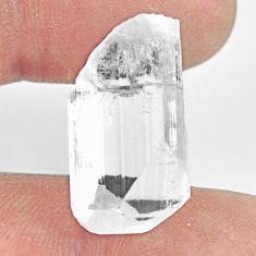 Natural 20.15cts danburite rough white rough 23x13mm fancy loose gemstone s13545