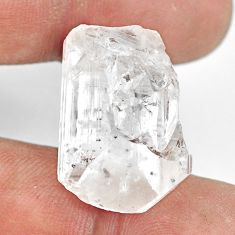Natural 27.35cts danburite rough white rough 24x16mm fancy loose gemstone s13526