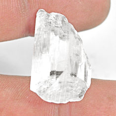 Natural 26.30cts danburite rough white rough 26x15mm fancy loose gemstone s13521