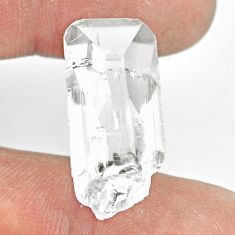 Natural 18.10cts danburite rough white rough 26x12mm fancy loose gemstone s13559