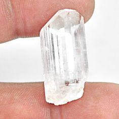 Natural 23.45cts danburite rough white rough 27x13mm fancy loose gemstone s13511