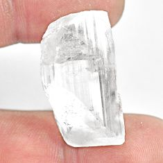 Natural 45.10cts danburite rough white rough 28x15mm fancy loose gemstone s13512