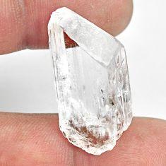 Natural 27.40cts danburite rough white rough 31x15mm fancy loose gemstone s13520
