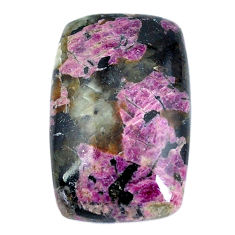 Natural 27.40cts eudialyte pink cabochon 28x18 mm octagan loose gemstone s11282