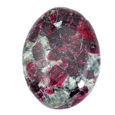 Natural 26.30cts eudialyte pink cabochon 28x21 mm oval loose gemstone s11287