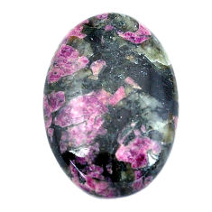 Natural 30.15cts eudialyte pink cabochon 30x20 mm oval loose gemstone s11294