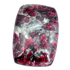 Natural 34.45cts eudialyte pink cabochon 30x21 mm octagan loose gemstone s11281