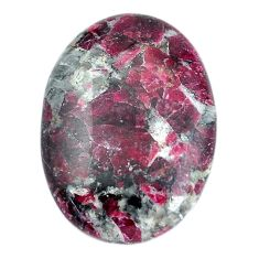 Natural 30.10cts eudialyte pink cabochon 30x22 mm oval loose gemstone s11291