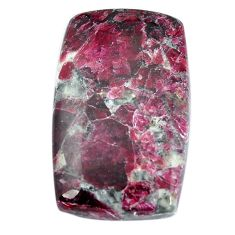 Natural 31.30cts eudialyte pink cabochon 32x20 mm octagan loose gemstone s11283