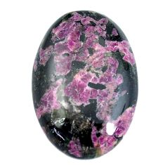 Natural 38.45cts eudialyte pink cabochon 32x21.5 mm oval loose gemstone s11286