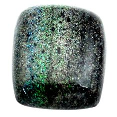 Natural 11.30cts honduran matrix opal black 18.5x15 mm loose gemstone s13847