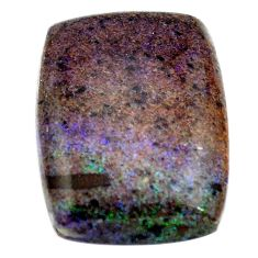 Natural 11.20cts honduran matrix opal black 20x15 mm loose gemstone s13855