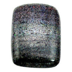 Natural 10.45cts honduran matrix opal black 21x14 mm loose gemstone s13848