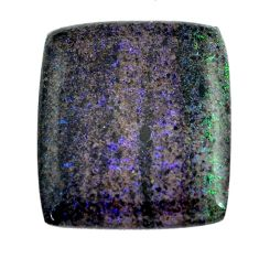 Natural 10.15cts honduran matrix opal black 21x18 mm loose gemstone s13215