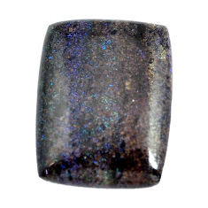 Natural 13.40cts honduran matrix opal black 22x16.5 mm loose gemstone s13212