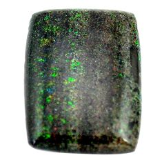Natural 10.15cts honduran matrix opal black 23x16 mm loose gemstone s13844