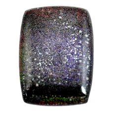 Natural 12.40cts honduran matrix opal black 24x17 mm loose gemstone s13209