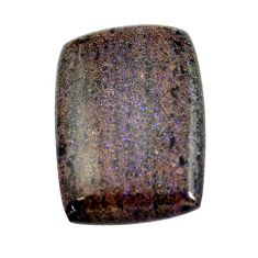 Natural 14.35cts honduran matrix opal black 25.5x18 mm loose gemstone s13204