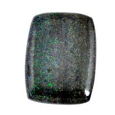 Natural 11.30cts honduran matrix opal black 25x18 mm loose gemstone s13211