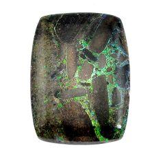 Natural 15.10cts honduran matrix opal black 25x18 mm loose gemstone s13216