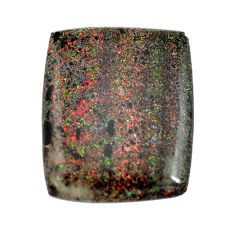 Natural 13.45cts honduran matrix opal black 25x20 mm loose gemstone s13202