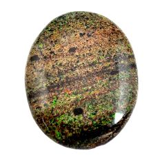 Natural 14.45cts honduran matrix opal black 27.5x21mm oval loose gemstone s13206