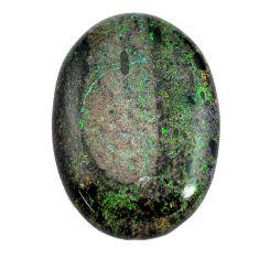 Natural 13.45cts honduran matrix opal black 27x19 mm oval loose gemstone s13218