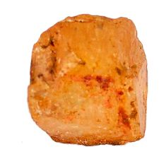 Natural 17.40cts imperial topaz golden rough 13.5x12 mm loose gemstone s11410