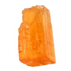 Natural 12.40cts imperial topaz golden rough 17x12 mm loose gemstone s11437
