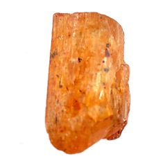 Natural 17.35cts imperial topaz golden rough 18x10 mm loose gemstone s11432