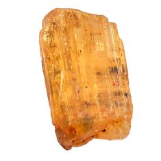Natural 14.45cts imperial topaz golden rough 18x11 mm loose gemstone s11424