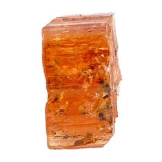 Natural 17.35cts imperial topaz golden rough 18x9 mm loose gemstone s11454