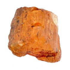 Natural 27.40cts imperial topaz golden rough 21x17 mm loose gemstone s11455