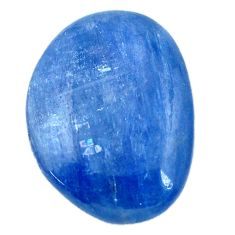 Natural 23.45cts kyanite blue cabochon 24x18 mm fancy loose gemstone s12297