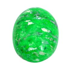 Natural 16.30cts maw sit sit green cabochon 19x14 mm oval loose gemstone s10382