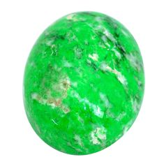 Natural 17.40cts maw sit sit green cabochon 20x15 mm oval loose gemstone s10390