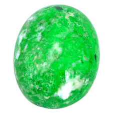 Natural 16.30cts maw sit sit green cabochon 20x15 mm oval loose gemstone s10396