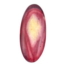 Natural 26.25cts mookaite brown cabochon 39x16 mm oval loose gemstone s14966