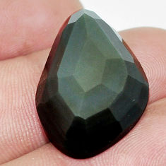 Natural 19.45cts obsidian eye rainbow cabochon 25x16.5 mm loose gemstone s9936